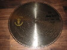 "Rar Monte Carlo Marsch Polyphon Blechplatte 39,5cm automaton music discs 15 1/2"""