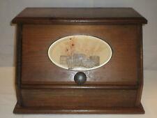 Vintage Wooden Bread Box