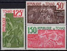 s271046 Chad - Air Post Sc#C157-59 MNH