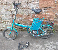 24V ELECTRIC Battery FOLDING BIKE Spares Or Repair ? VINTAGE