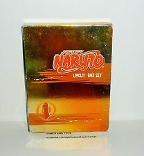 COFFRET DVD VIDEO SHONEN JUMP NARUTO UNCUT BOX SET VOL 1