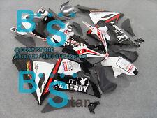 Black decals INJECTION Fairing Bodywork Plastic Fit Kawasaki ZX-6R 05-06 048 A2