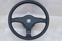 BMW E30 E24 E34 E28 E32 M Technic LENKRAD M Technik 1 - 385 mm BLACK