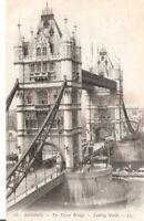 AK Ansichtskarte London / Tower Bridge - 1909