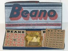 Vintage Milton Bradley BEANO #4317 in Original Box! The Peppy Party Game!