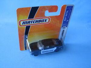 Matchbox Dodge Charger Police Car Black Auburn Hills Toy Model 70mm in BP