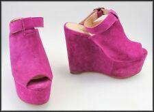 Siren Platforms & Wedges Suede Medium (B, M) Heels for Women
