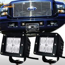 2x 3inch Led Work Light Flood OffRoad Fog Driving Pods 05-07 Ford F250 F350 F450