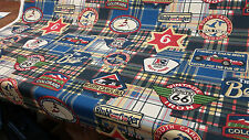 Vintage Route 66 North Carolina Colorado cotton print Fabric Multipurpose 56""