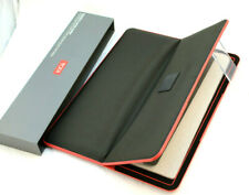 """NWT TUMI Magnetic Slim Solutions Black With Red Trim Laptop Sleeve 15"""" MSRP $90"""