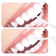 b3daf55f6 50pcs dental dentes Fio Dental Flosser Palhetas palitos Dente Oral Care  Stick limpo