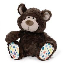 Nici 40478 Classic Bear Bär dunkelbraun mit bunten Füßen Plüsch Kuscheltier 20cm