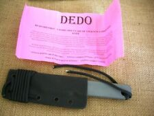 Newt Livesay Custom Fixed Blade Knife DEDO, Tanto, Kydex