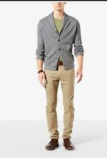 Dockers Alpha Stretch Skinny Tapered New British Khaki W34 L36 34 36