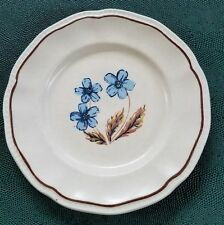 """Kensington Ironstone Hyde Park Bread Plate Made In England Hand Crafted 6-3/4"""""""