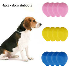 Soft Waterproof Rubber Puppy Pet Shoes Anti Slip Dog Boots Outdoor Elastic