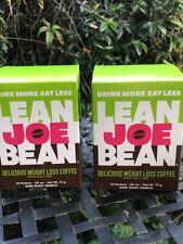 LEAN JOE BEAN WEIGHT LOSS COFFEE 2 BOX SALE! FREE SHIPPING!
