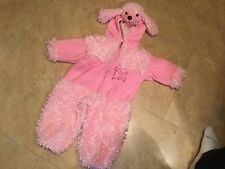 Pink Poodle Dog Halloween Costume - size 2T