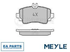 BRAKE PAD SET, DISC BRAKE FOR MERCEDES-BENZ MEYLE 025 230 7016