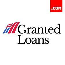 GrantedLoans.com - 2 Word Short Domain Name - Catchy Finance Domain .COM Dynadot