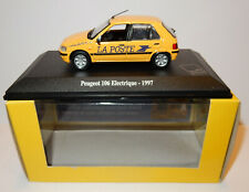NOREV PEUGEOT 106 ELECTRIQUE 1997 POSTES POSTE PTT 1/43 in luxe BOX