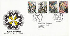 16 JUNE 1987 St JOHNS AMBULANCE ROYAL MAIL FIRST DAY COVER LONDON EC1 SHS (x)