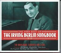 Irving Berlin Songbook - The Very Best Of / 50 Greatest Classics 2CD NEW/SEALED