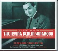 Irving Berlin Songbook - The Very Best Of - 50 Original Classics 2CD NEW/SEALED