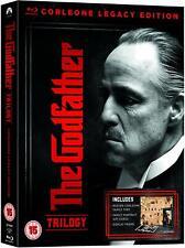 THE GODFATHER TRILOGY (1972, 1974, 1990) Corleone Legacy Edition RgFree BLU-RAY