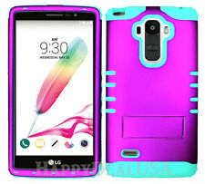 KoolKase Hybrid Silicone Cover Case for LG G Stylo LS770 - Purple (R)