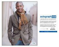 "Charles Michael Davis ""The Originals"" AUTOGRAPH Signed 'Marcel' 8x10 Photo C"