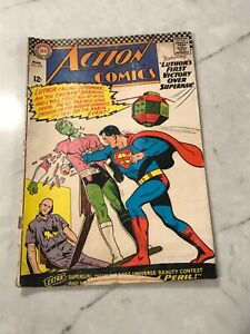"""Action Comics """"Luthers First Victory over Superman"""" MAR 1966 #335 DC COMICS good"""