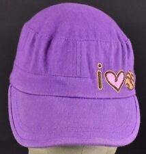 Purple I Love Samoas Cookies Girl Scouts Embroidered Cadet hat cap adjustable