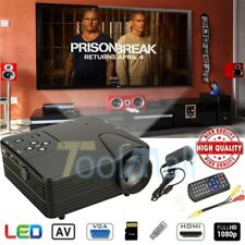 3800Lumens 1080P HD LED Projector Home Cinema Theater Multimedia USB TV AV HDMI