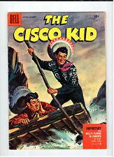 Dell CISCO KID #29 October-December 1955 vintage western comic