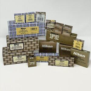 Lot of 17 Brand new Nikon Accessories