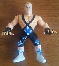 WWF WWE Ludvig Borga RARE Hasbro Wrestling Figure Green Series vintage