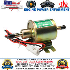 Electric Fuel Pump HEP-02A 4-7 PSI 12V Inline Universal Low Pressure Gas Diesel