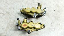 01 Suzuki GSXR 1000 GSXR1000 GSX R R1000 front brake calipers right left set