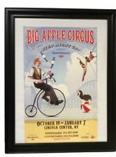 Big Apple Circus 2007 Poster LIncoln Center NY Frame Glass, Step Right Up Juggle