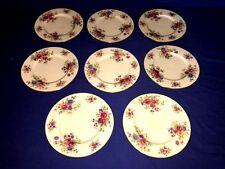 "8 Lenox Aurora 8 1/4"" Salad Plates ~ Discontinued ~ Excellent"