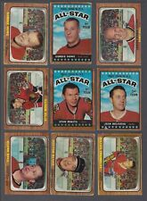 1966-67 Topps Hockey Cards Lot of 77