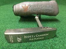 TITLEIST SCOTTY CAMERON PRO PLATINUM CORONADO MID SLANT RIGHT HAND PUTTER 34.5""