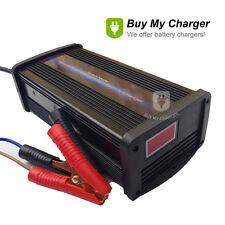 Automatic 48V Volt 10A/15A/20A Current Switchable Lead Acid Battery Charger