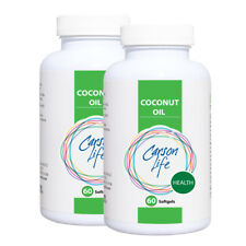 Carson Life Organic Coconut Oil Soft Gels- 2 PACK