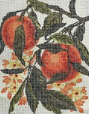 FRENCH COUNTRY FRUIT-ORANGES- NEEDLEPOINT TAPESTRY canvas to stitch- 20 X 25 CM