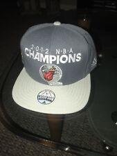 Miami Heat Adidas NBA Finals Champions Locker Room Snapback Hat Cap