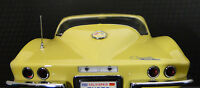 1 1967 Vette Corvette Chevy Sport Car 43 Vintage 18 Race 24 Carousel Yellow 12