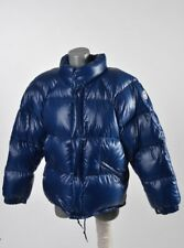 1991 Moncler Vintage Mens Shiny Laquer Down Puffer Jacket Size 2 Fits Around M L