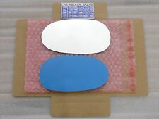 D060L Mirror Glass for CHRYSLER CROSSFIRE Driver Side Left + FULL SIZE ADHESIVE